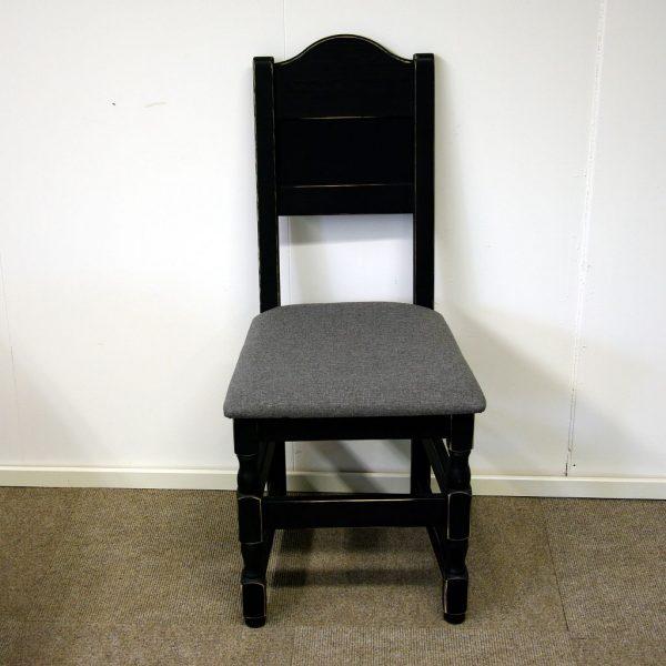 Gjende spisestol sort antikk Olivia 681 grå_1024x1024